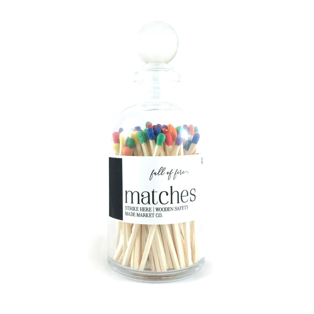 Made Market Co. Full of Fire- Rainbow Matches