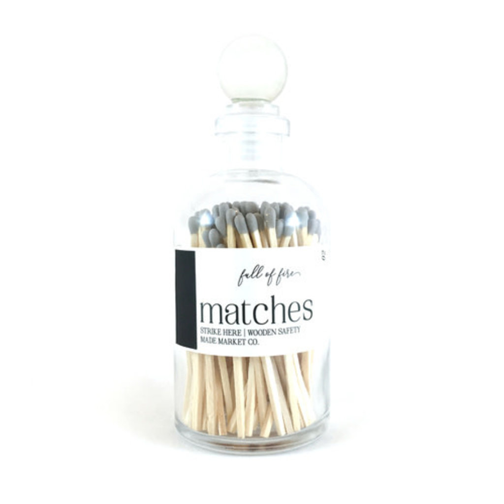 Made Market Co. Full of Fire- Grey Matches