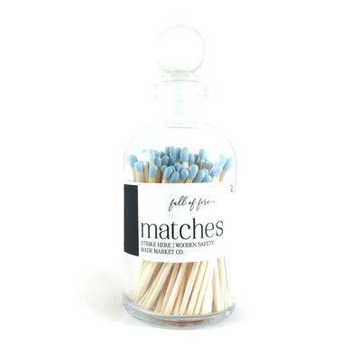 Made Market Co. Full of Fire- Powder Blue Matches