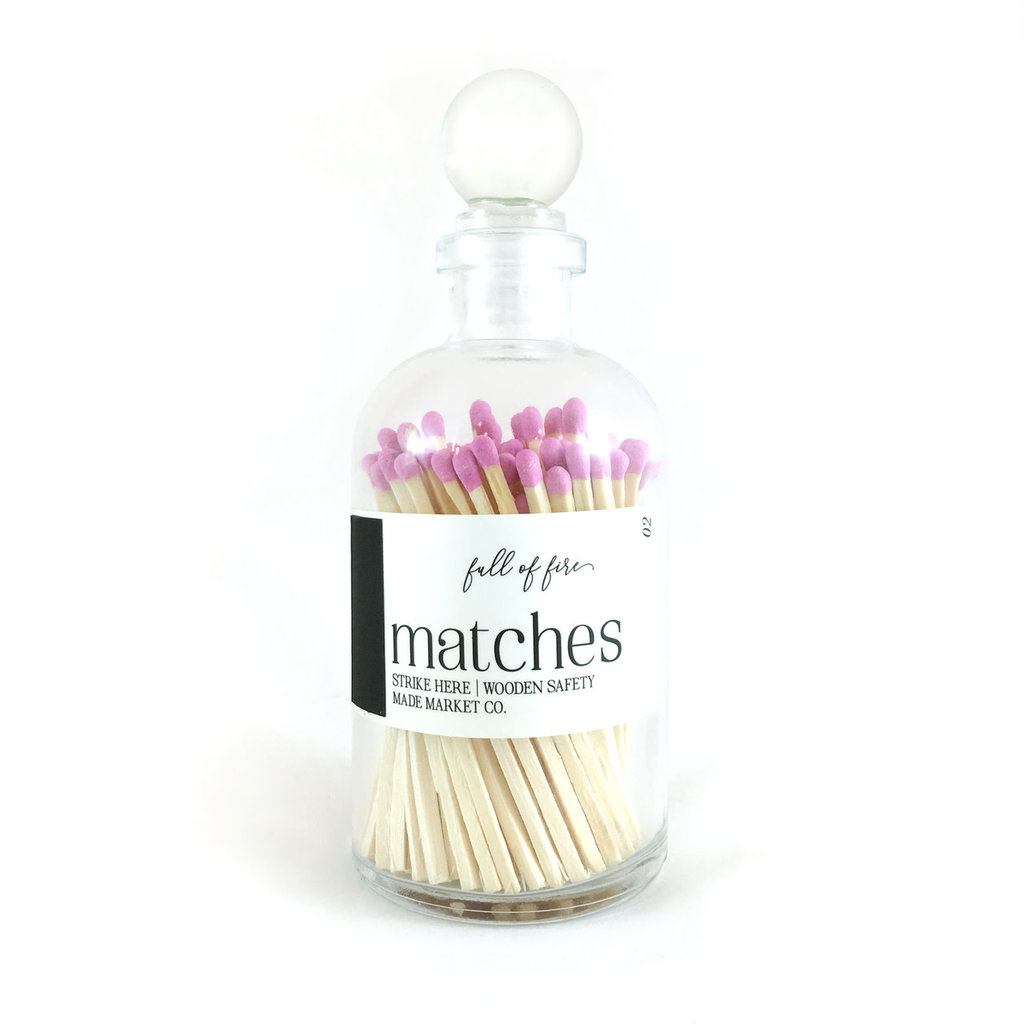 Made Market Co. Full of Fire- Fucshia Matches