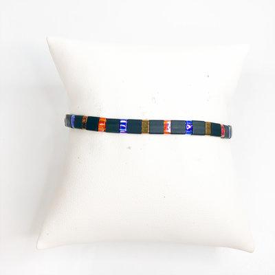 Gemelli Gabby Black/Multi Color