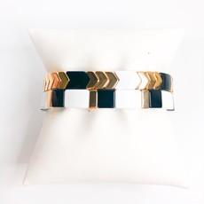 Gemelli Soho Black/Gold Straight Bar