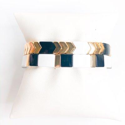 Gemelli Soho Black/Gold Arrow