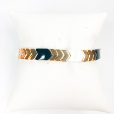 Gemelli Soho Black/Gold Arrow