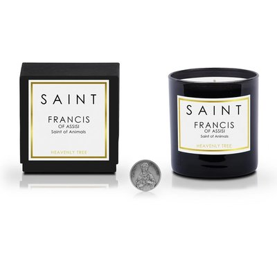 Saint Saint Francis of Assisi Candle