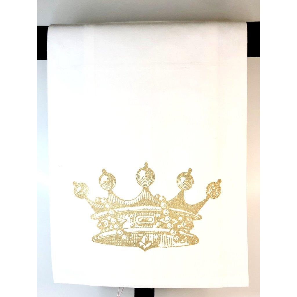 Monique Perry Monique Perry Queen Crown Tea Towel