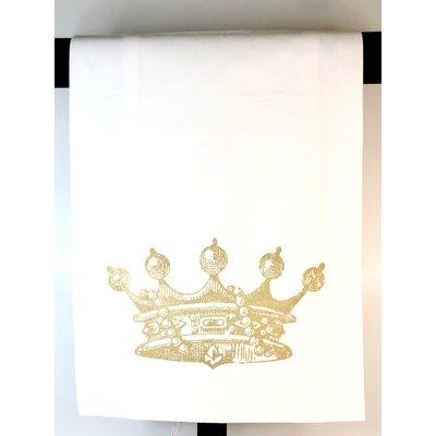 Monique Perry Monique Perry Queen Crown Tea Towel