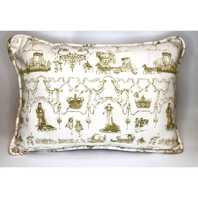 Jennifer Grehan Jennifer Grehan Mardi Gras Toile Pillow (Small)