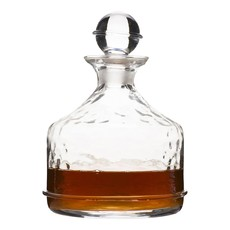 Juliska Whiskey Decanter Carine Clear 7''H