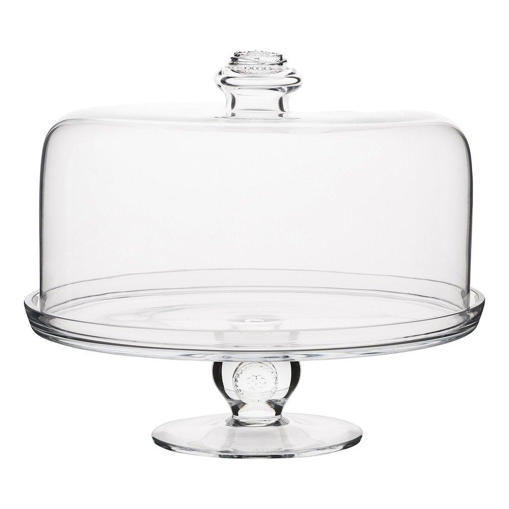 Juliska Cake Pedestal B&T Glassware Clear