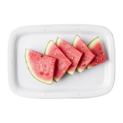 Juliska Serving Tray/Platter Melamine Whitewash