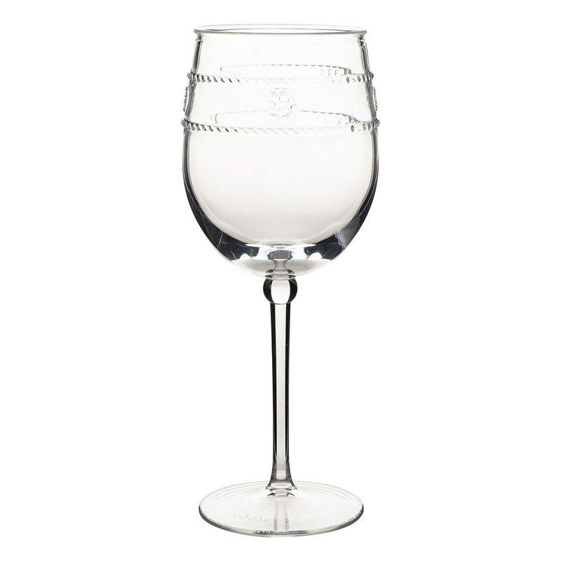 Juliska Wine Glass Acrylic Isabella