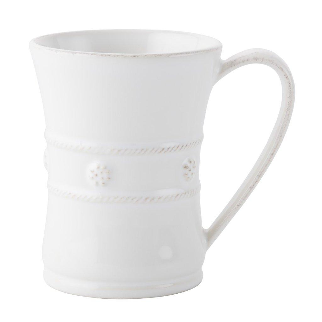 """Juliska Mug B&T White 4.5""""H"""
