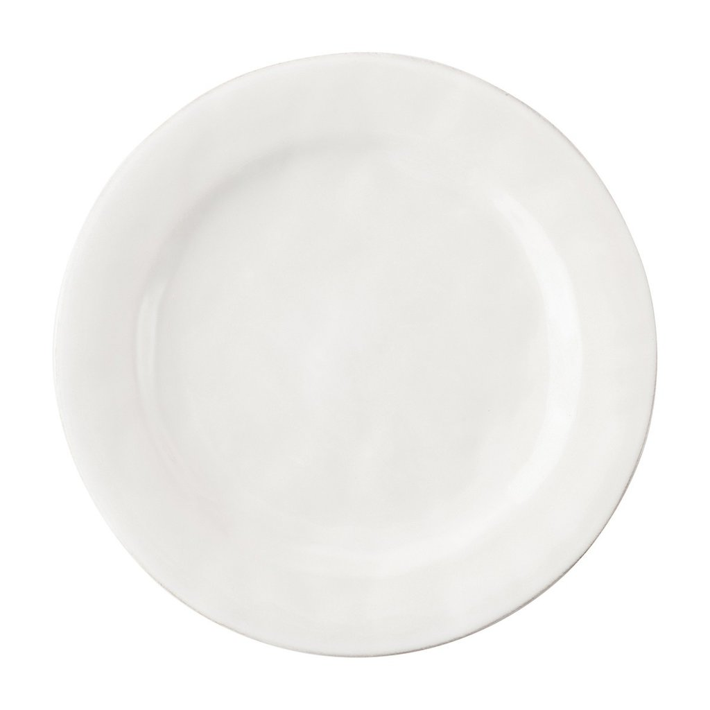 Juliska Puro White Dessert/Salad Plate Display