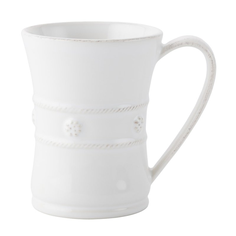 Juliska Mug B&T White 4.5''H