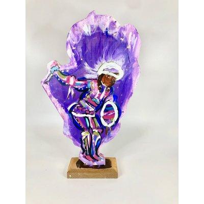 Lorraine Gendron Lorraine Gendron Mardi Gras Indian (Purple)
