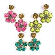 Allie Beads Emma Earrings Turquoise