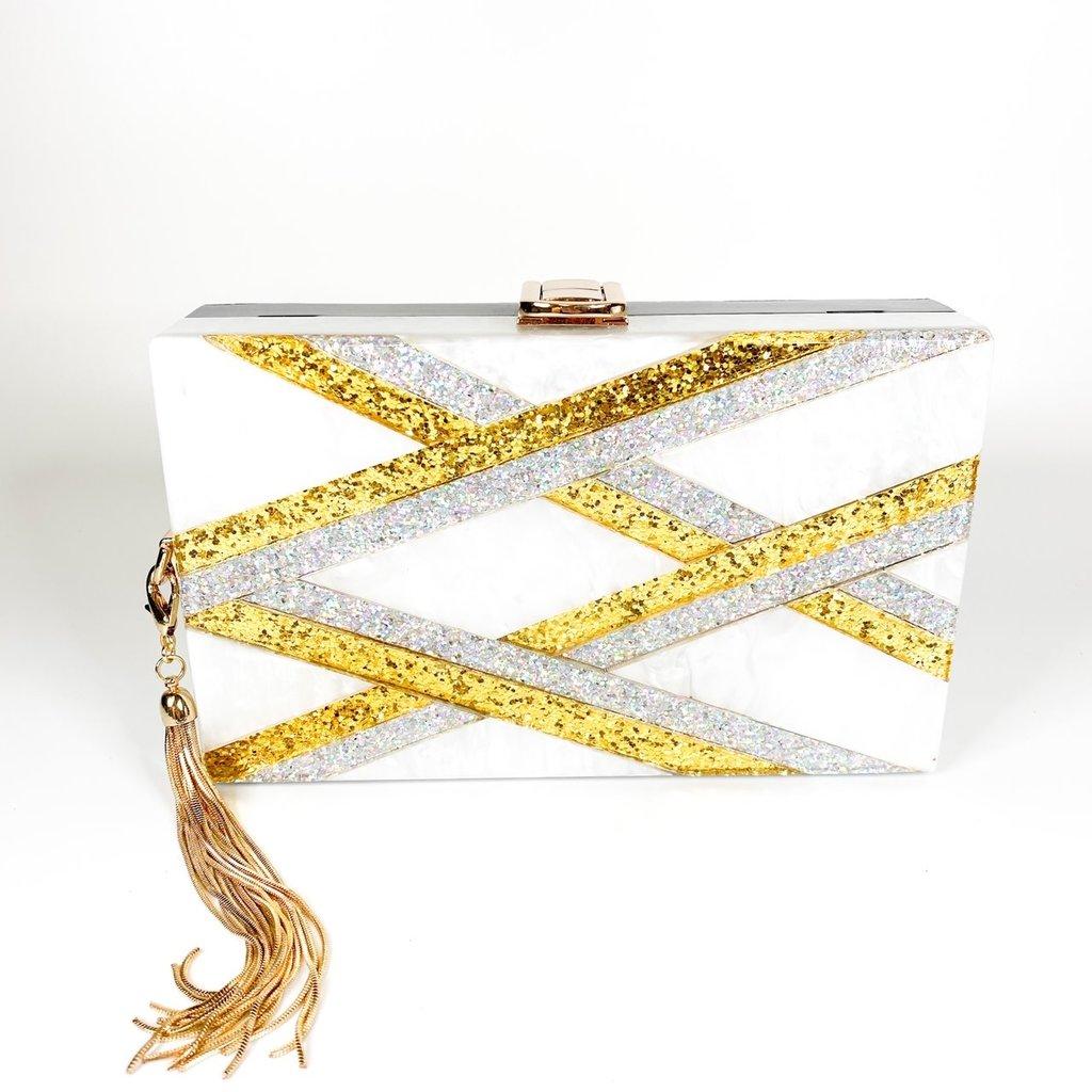 Amishi Gold/Silver Handbag
