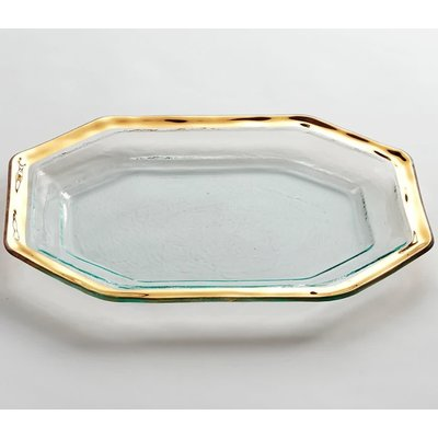 Annie Glass Annie Glass 14 x 10 1/2'' STEAK PLATTER