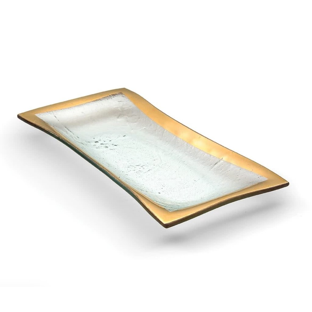 Annie Glass 11 x 5'' Olive Tray