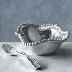Beatriz Ball GIFTABLES Organic Pearl petit bowl w/ spoon