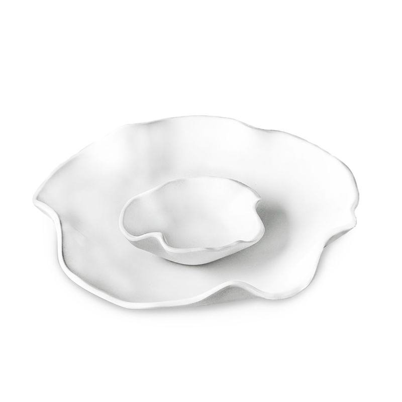Beatriz Ball VIDA Nube bowl w/dip white