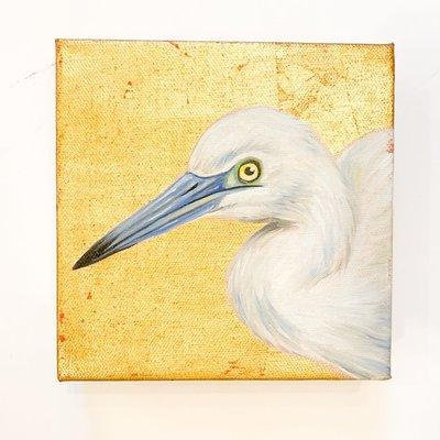 Rayne Bories Rayne Bories White Bird 6 x 6