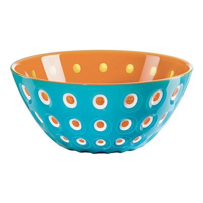 Guzzini Le Murrine Large Bowl Turquoise/Orange