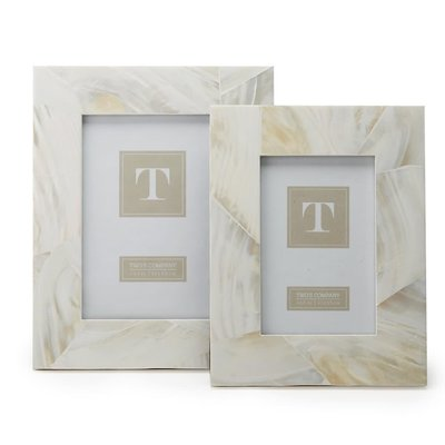 Two's Company Mother of Pearl Frame 4x6