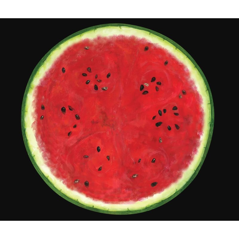 Hester and Cook Hester and Cook Die Cut Watermelon Placemat - 12 Sheets