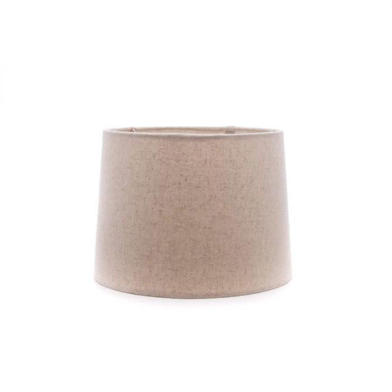 Simon Pearce Simon Pearce Linen Barrel Shade Natural 11 inch