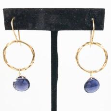 Benazir Collection Bella Earrings Iolite