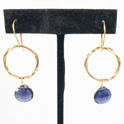 Benazir Collection Bella Earrings Iolite