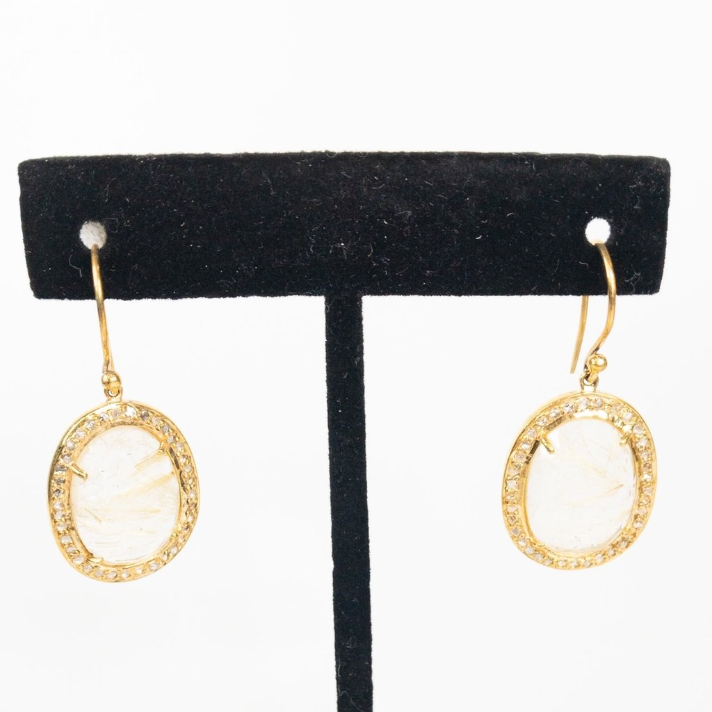 Benazir Collection Benazir Florencia Earrings Citrine
