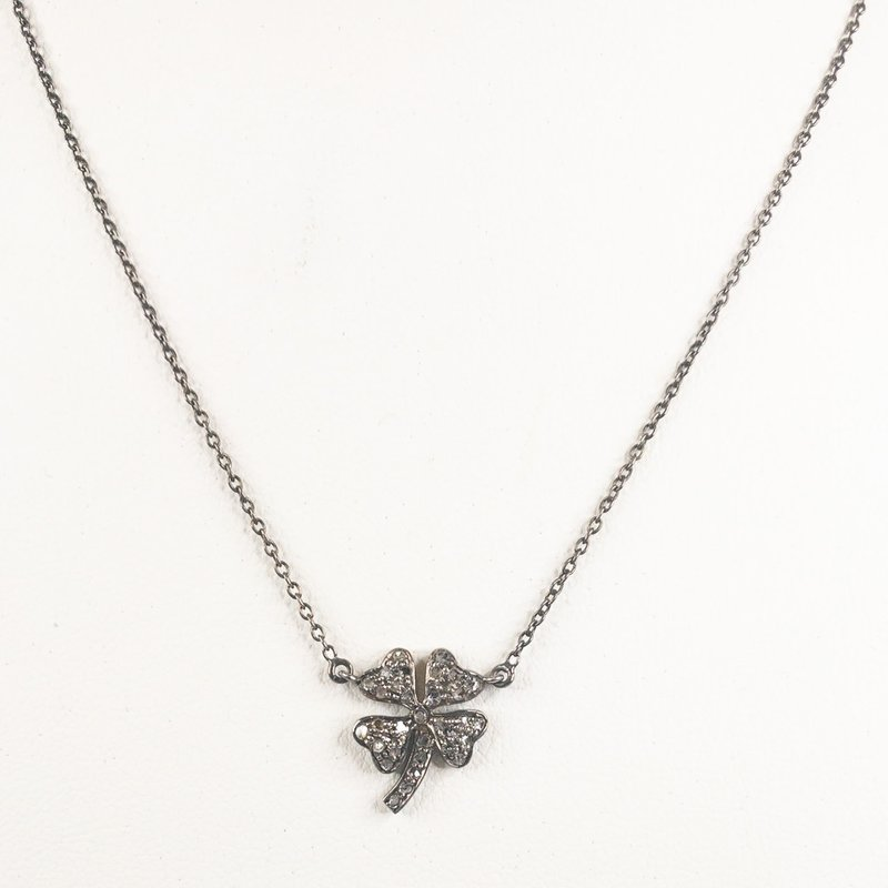 Benazir Collection Irene Necklace Silver