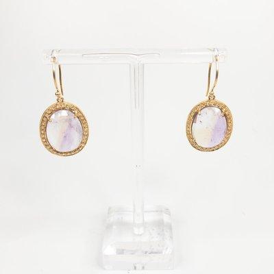 Benazir Collection Renee Earrings Ametrine