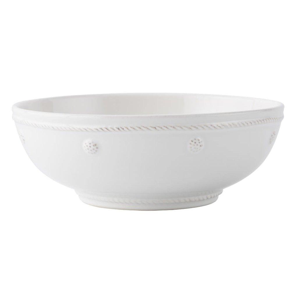 Juliska B&T Whitewash Coupe Pasta Bowl Display