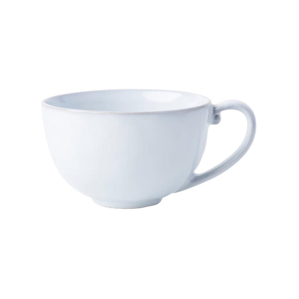 Juliska Coffee/Tea Cup Quotidient White Truffle