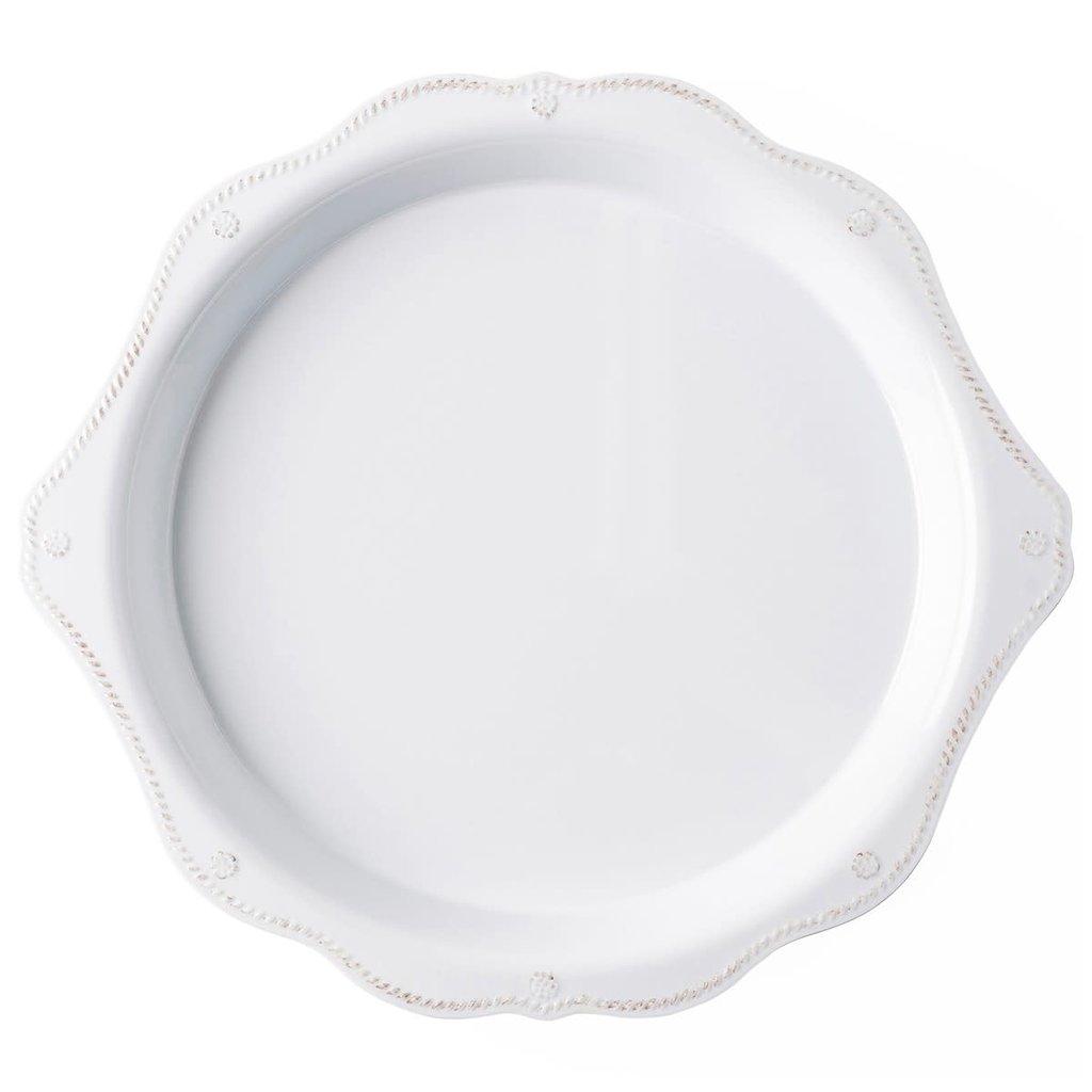 Juliska 17'' Handled Platter B&T Melamine Whitewash