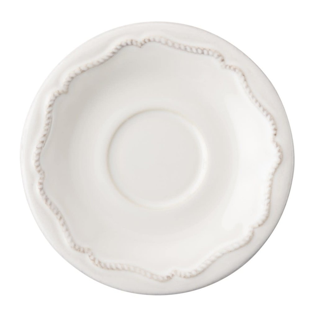 Juliska Demitasse Saucer B&T White