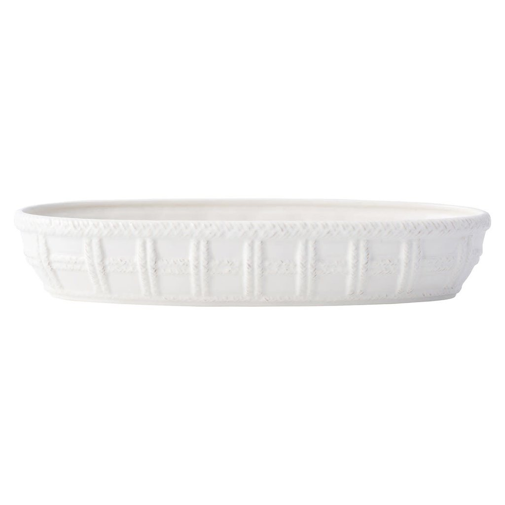 Juliska Bread Basket Le Panier White 15.25''