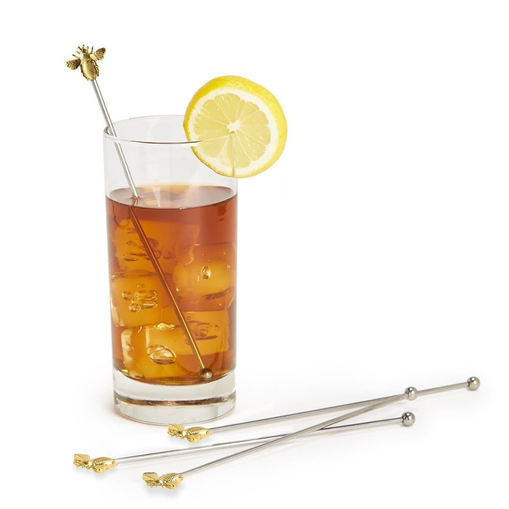 Two's Company Bee Happy Drink Stirrer