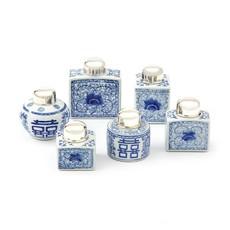 Two's Company Canton Tea Jar Rectangle