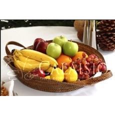 Calaisio Calaisio Oval Tray with Handles Large