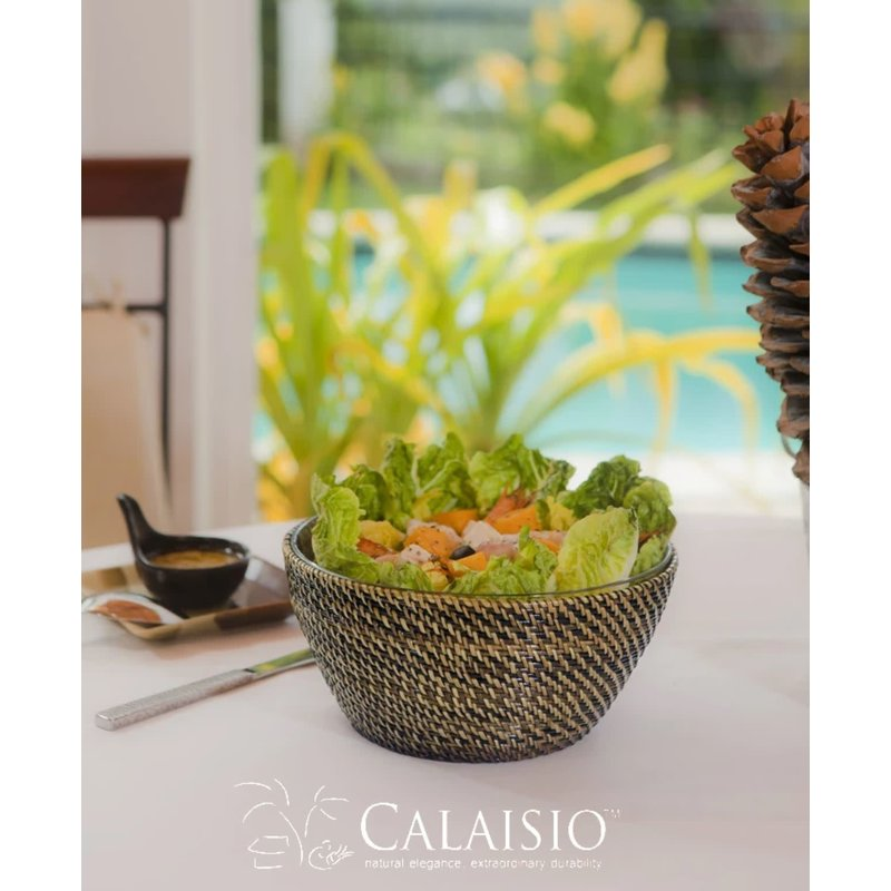 Calaisio Calaisio Round Bowl with Glass Medium