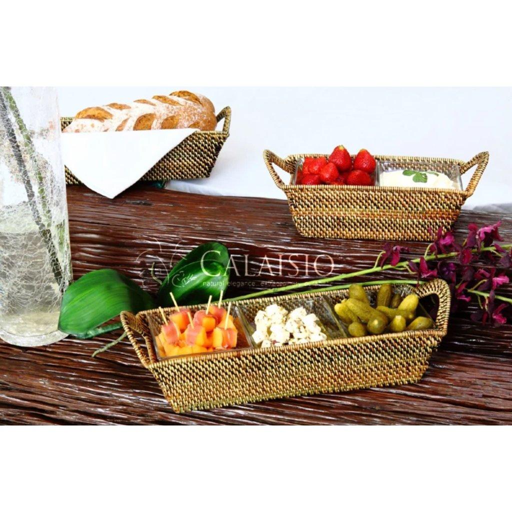 Calaisio Calaisio Rectangle tray with Handles