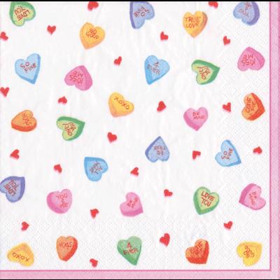 Caspari Candy Hearts Cocktail
