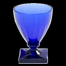 Caspari Caspari Acrylic Wine Goblet Crystal Cobalt
