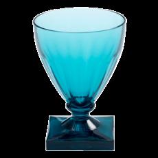 Caspari Caspari Acrylic Wine Goblet Crystal Turquoise