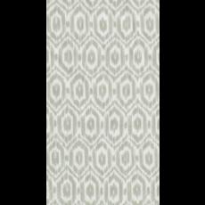 Caspari Caspari Amala Ikat Grey Guest Towel